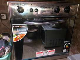 Brand New Stone Gas Oven