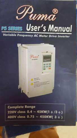 Puma variable frequency A.c. motor Driver inverter