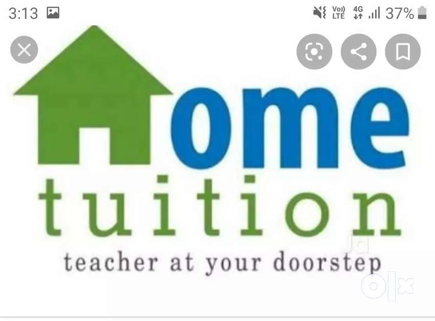 Home tuition for class 1st to 8th 0
