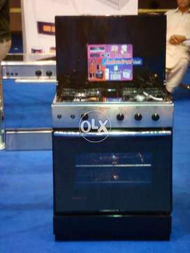 Admiral Gas Cooking Range 3 burners with Oven available with warranty
