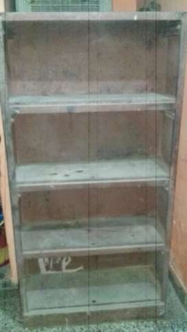 Stateless heavy iron book rack