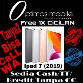 iPad 2019/7 Apple [128GB/Wifi/10inch] ORIGINAL TerBukti Cash\TT\Kredit