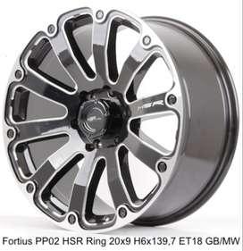velg FORTIUS PP02 HSR R20X9 H6X139,7 ET18 GBMW