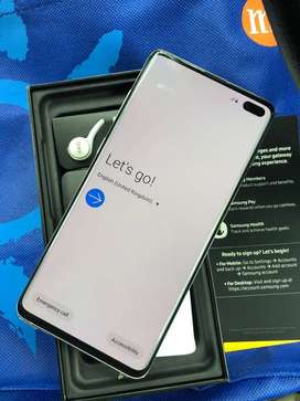 Brand new Samsung Galaxy  s10 with all accessories