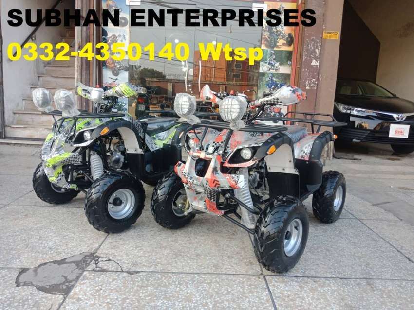 Best For Hunting Atv Quad 4 Wheels Bike Deliver In All Pakistan 0