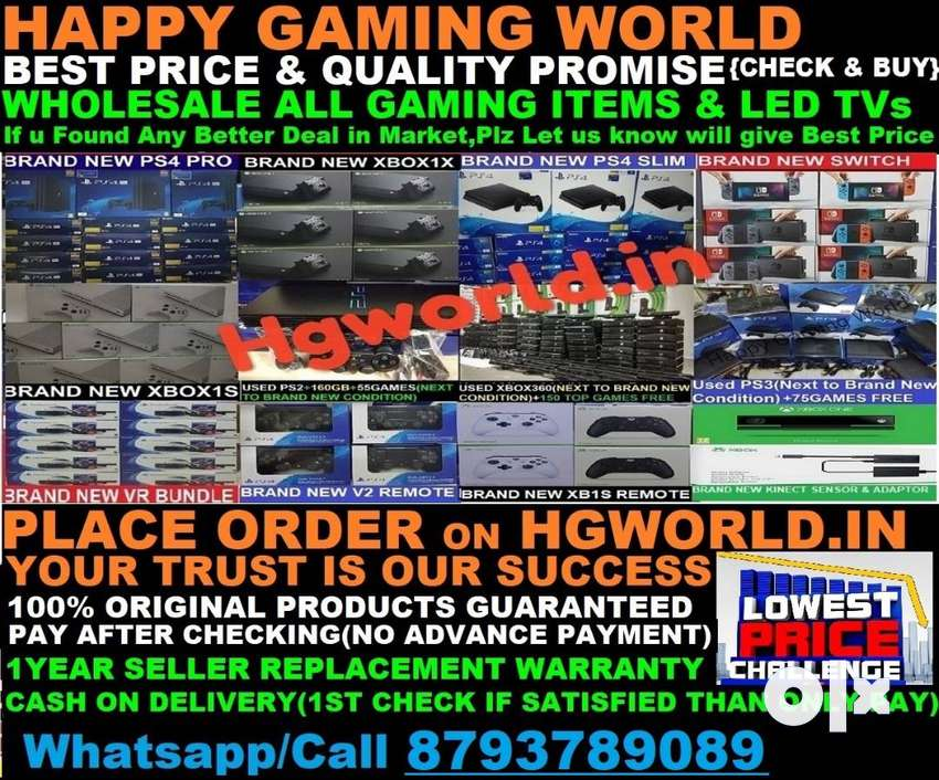 Wholesale All Gaming items&LED TVs,PS3,PS4 Pro/Slim,,PS2,XBOX1/X/S/360 0