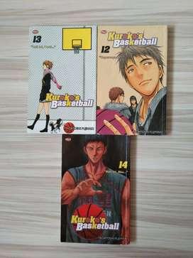 Komik Kuroko's Basketball 12,13,14