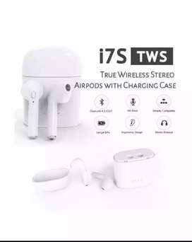 New i7s TWS Twin Wireless mini Earbuds with charging box stereo