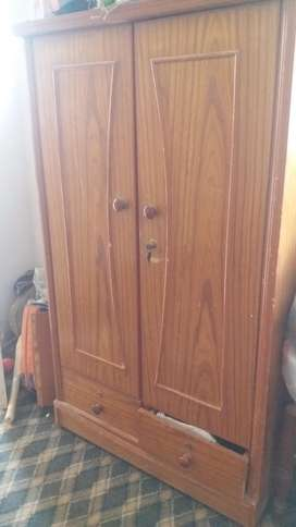 Wooden Two Door Cupboard