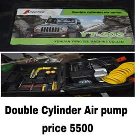 Double cylinder air pump (tags: tools car accesories )