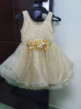 Party wear frock dress for baby girl upto 1 year