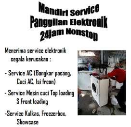 Service AC Kulkas Mesin cuci - Bongkar pasang Ac - Isi freon Ac Kulkas