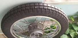 Royal Enfield Electra wheel