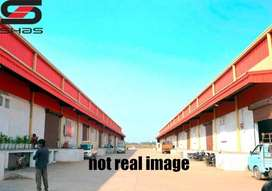 Commercial building with godown for sale in Thrissur, Kerala