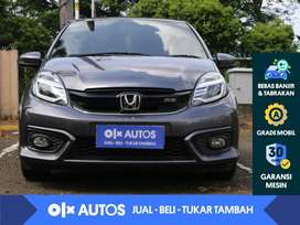 [OLX Autos] Honda Brio 1.2 RS CVT 2016 Abu - Abu