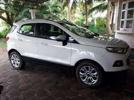 Eco sport taitanium plus diesl car..8,70000 only