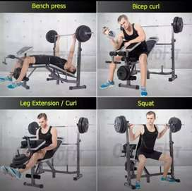Bench press,power squat,body slimmer,bisa cod langsung id 99187