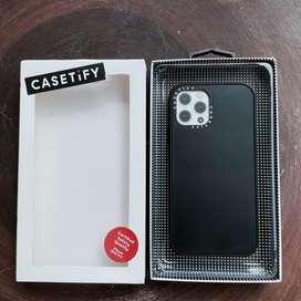 Case HP iPhone 12 / 12 Pro Casetify DTLA Black