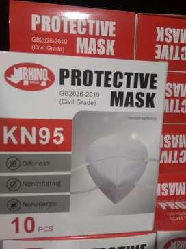 Masker KN95 putih isi 10pcs