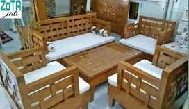 Kursi tamu kayu jati busa asli Jepara free ongkir COD tanpa DP murah
