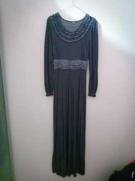 Dress panjang wanita / baju muslim panjang