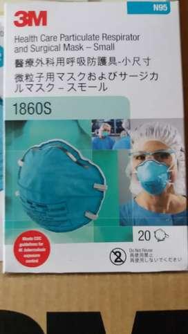 Masker 3M N95 1860S original
