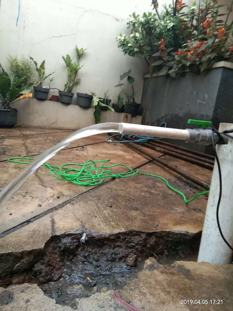 Pembuatan sumur bor mesin jacro dan rig