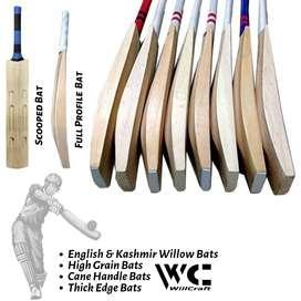 English Willow & Kashmir Willow Cricket Bats | BIGValueShop.C0M