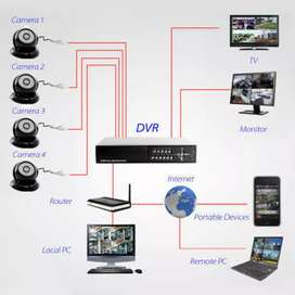 We are the Best CCTV cameras installation experts experts