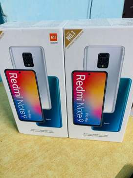 REDMI NOTE 9 PRO MAX SEALED PACK AVAILABLE