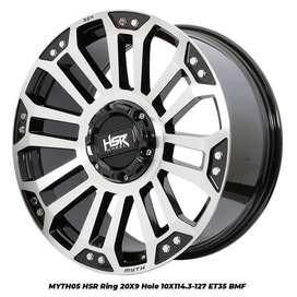 Harga pelek MYTH05 HSR R20X9 H10X114,3-127 ET35 BMF