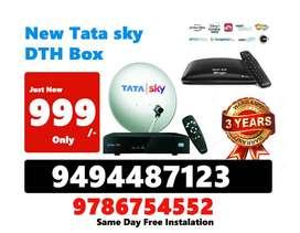 TATASKY New Offer for Telugu customers HD BOX TATA SKY COD Here   TATA