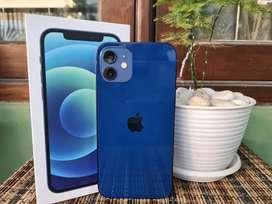 Iphone 12 64gb Blue Fullset Ori All Operator