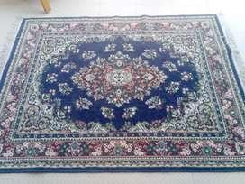 Carpet navy blue colour