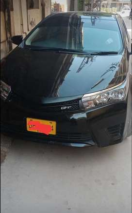 TOYOTA COROLLA GLI 2016 Now get easily on monthly installments