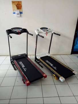TL-626 Small Electric Treadmill 1,5hp(hitam&putih) Murah Dijamina asli