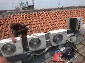 Jasa service, pemasangan, pengadaan AC baru/second