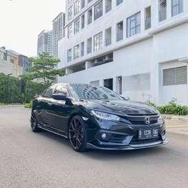 Civic 1.5 Turbo ES Sedan Black 2017 (Favorite Colour)