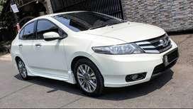 HONDA CITY E RS AT Matic 2013 putih best condition siap pakai