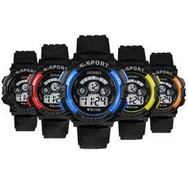 Jam tangan digital sport pria