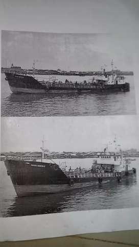 Jual kapal scrap tengker tagboud 2 unit tonase 518 ton
