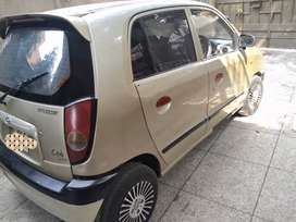 Hyundai Santro Club Golden Colour