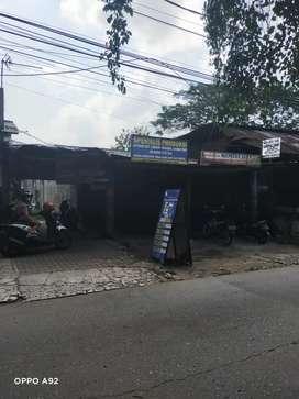 Dijual tanah pinggir jalan utama Krukut raya depok