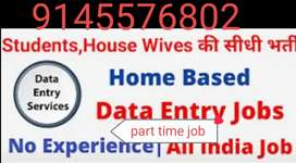 If you need and types of home based data entry work call me