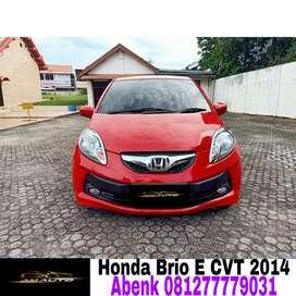 Honda brio E 2014/2015 matic,pajak panjang,mobil siap pakai