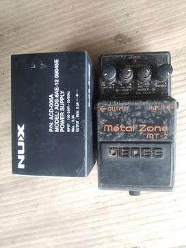 metalzone + adaptor