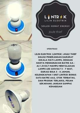 LINTRIK - Lilin Elektrik - Joule Thief - Solusi Hemat Energy