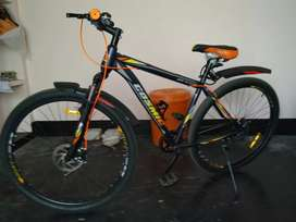 Brand new bicycle only 17 days used