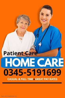 We Need Patient Attend/Nurse  for Home