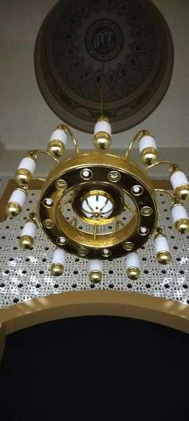 Jual Lampu Hias Masjid - Lampu Hias Masjid - Lampu Kubah Masjid 1.5mtr